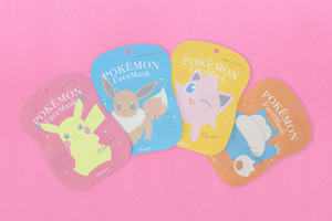 Lovisia x Pokemon 保濕面膜 (伊布)   Lovisia x Pokemon Face Mask (Eevee)  (20mL)