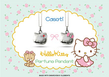 Load image into Gallery viewer, CASETI HELLO KITTY不銹鋼香水頸鏈  Hello Kitty Stainless Steel Perfume Pendant