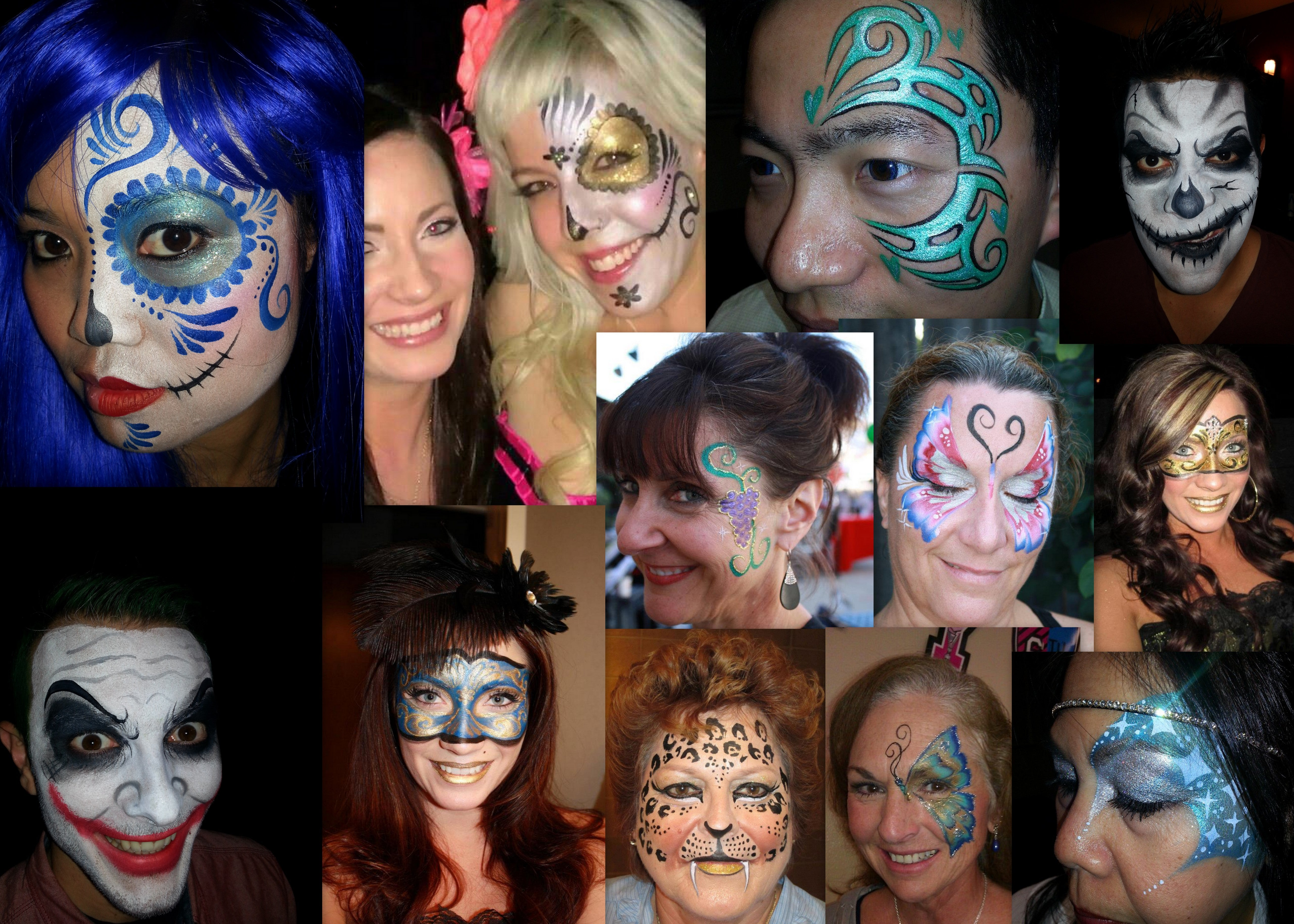 A Quick Guide To Face Body Paints Mad World Fancy Dress