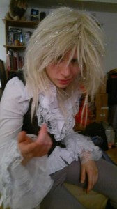 Goblin King david bowie costume 9010