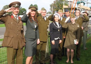 Goodwood revival military dress uniforms 4465