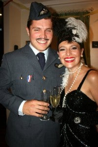 Officer & Flapper costumes 4472