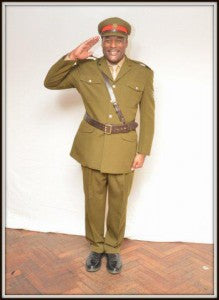 british army officers uniform 4455