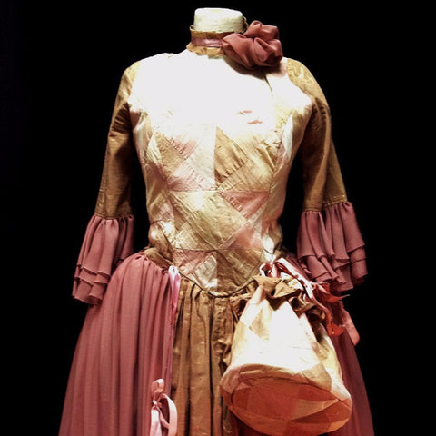18th Century Dress in Pale Pink