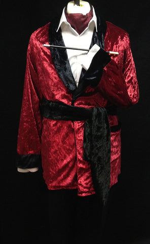 Victorian Smoking Jacket