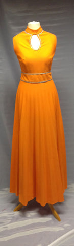1930s Afternoon Dress (Orange)