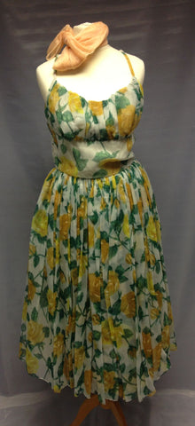 1940s Afternoon Dress (Floral)
