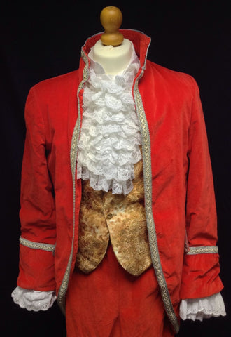 18TH CENT DEVO CLOSE UP WITH JACKET