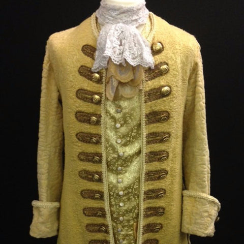 18th Century Court Gent in Gold