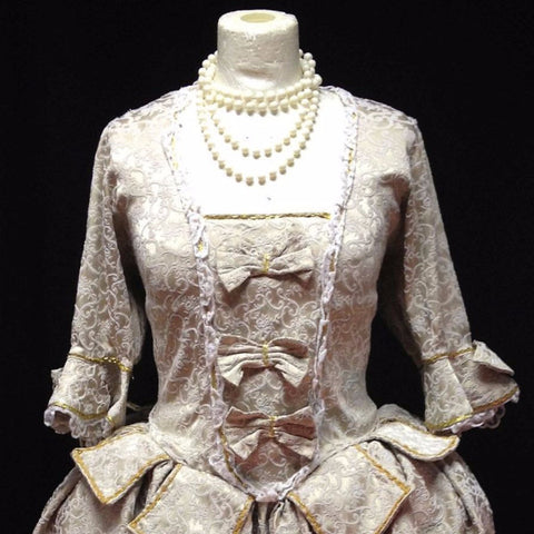 18th Century Dress in Cream