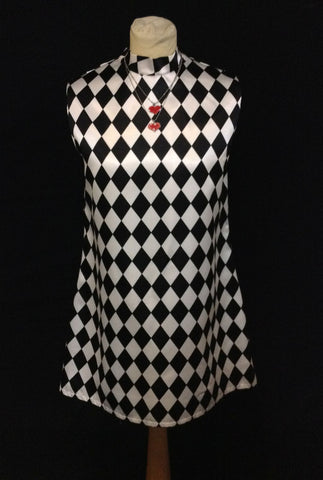 60S MOD GIRL 0001A DRESS
