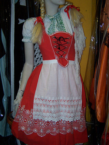 bavarian beer festival bar wench dirndl dress