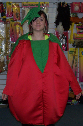 big red tomato costume