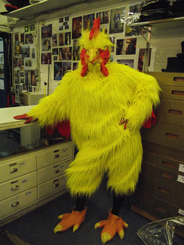 big yellow chicken