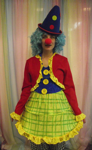 BRIGHT LADY CLOWN.