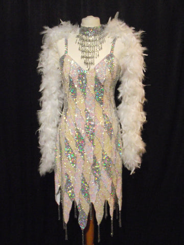 Showgirl (White and Silver)