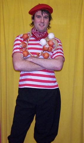 french national onion sellers costume