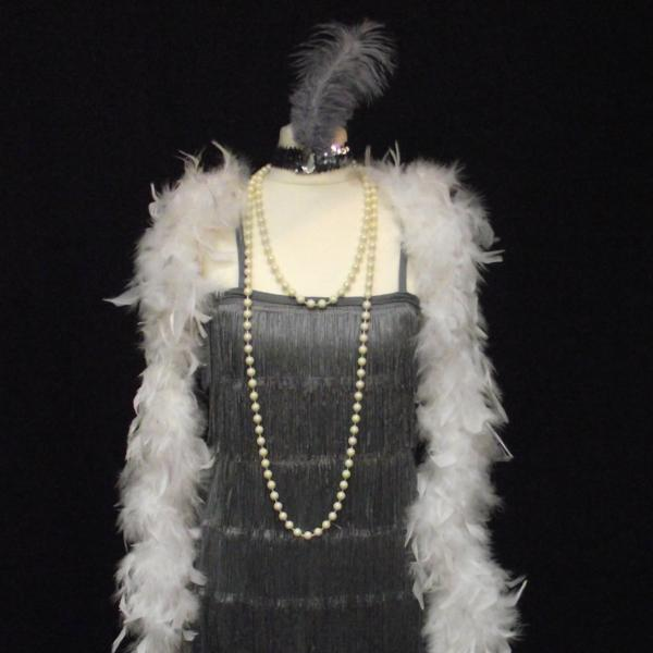 1920s Flapper Girl (Grey Silver)
