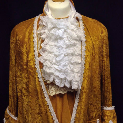 18th Century Court Gent in Mustard