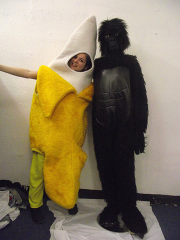 Gorilla and Giant Banana