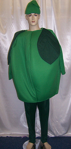 green apple fruit padded costume