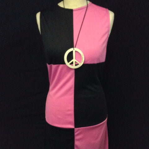 1960s Pink and Black Chick