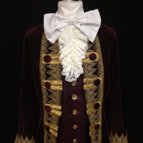 18th Century Court Gent in Purple