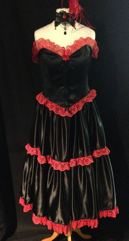 Moulin Rouge style costume
