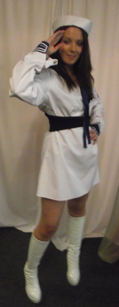 NAUGHTY NAUTICAL FEMALE SAILOR