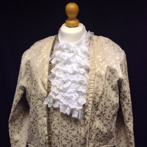 18th Century Court Gent in Gold Brocade