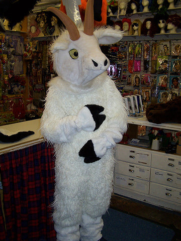 white goat costume