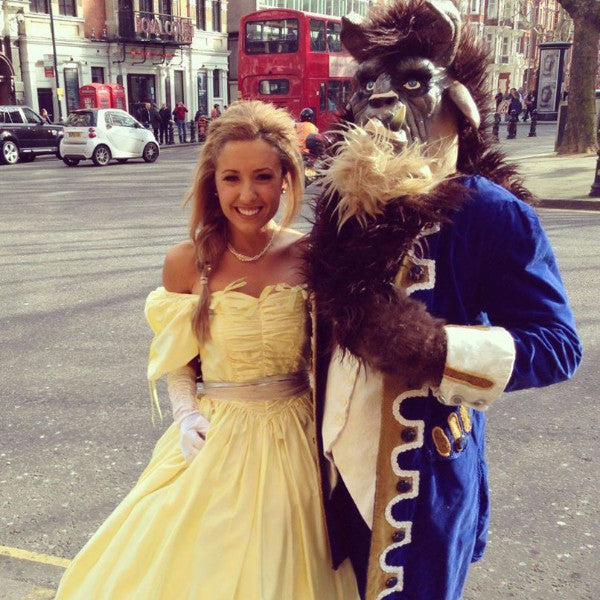 Belle and Beast costumes
