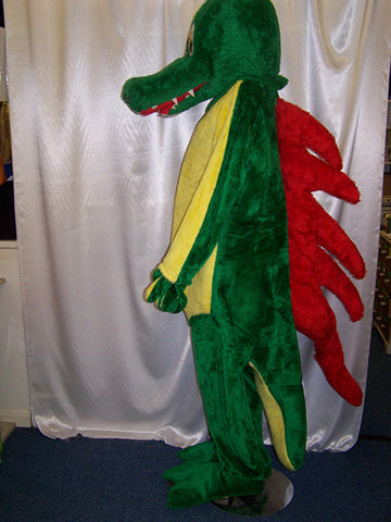 dragon aligator costume