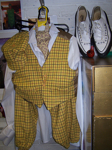 edwardian country gents golfing costumes