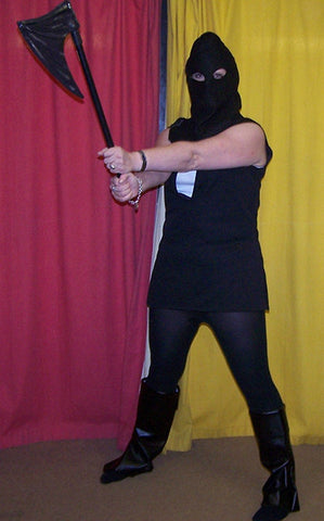 executioner costume and axe