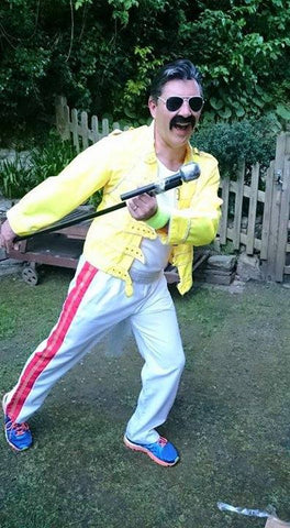 1980s Freddie Mercury Yellow Jacket