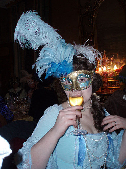 Masquerade Dress And Mask Mad World Fancy