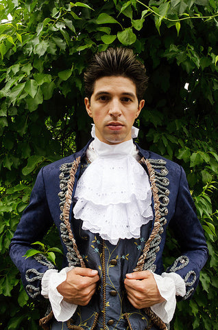 18th Century Court Gent in Blue