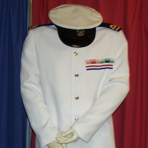 officer and a gentleman naval whites
