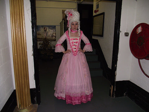 18th Century Dress in Pink