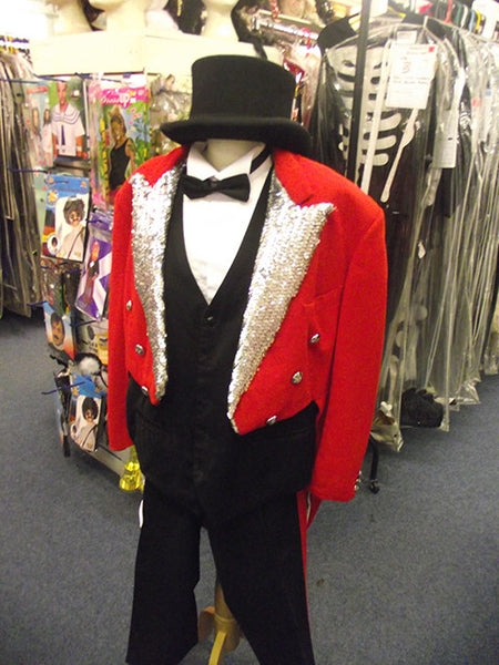 Sequin Ringmaster Mad World Fancy Dress