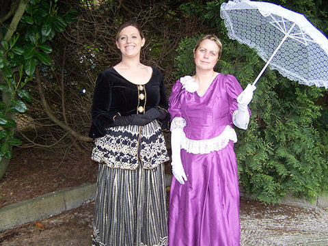 victorian period ladies day dresses