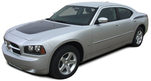 Chargin 2 Kit w/ name on back panel 2006-2010 Dodge Charger Vinyl Kit