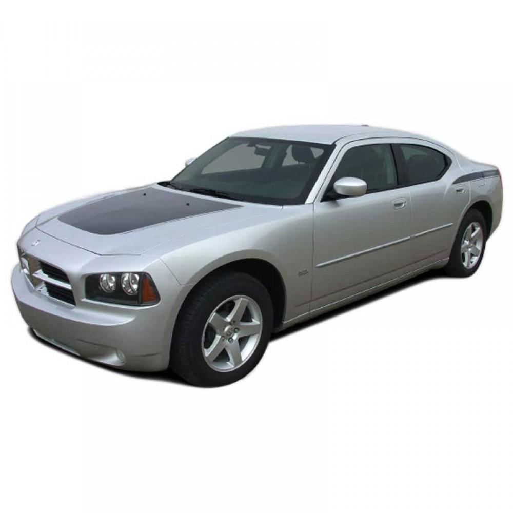 Chargin 2 Kit w/out name 2006-2010 Dodge Charger Vinyl Kit