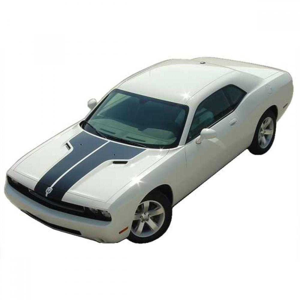 Hood Top 2008-2014 Dodge Challenger Vinyl Kit