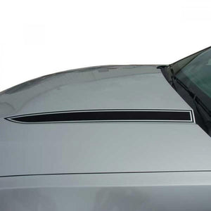 Dominator Hood Spear (Blank) 2010-2012 Ford Mustang Vinyl Kit