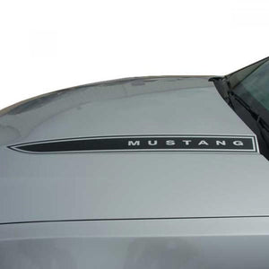 Dominator Hood Spear (Mustang) 2010-2012 Ford Mustang Vinyl Kit