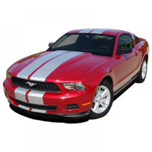 Stampede 3 with camera spoiler 2010-2012 Ford Mustang Vinyl Kit
