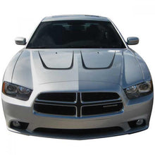 Load image into Gallery viewer, Hood Scallops - Dodge Charger Vinyl Kit 2011-2014 Dodge Charger Vinyl Kit