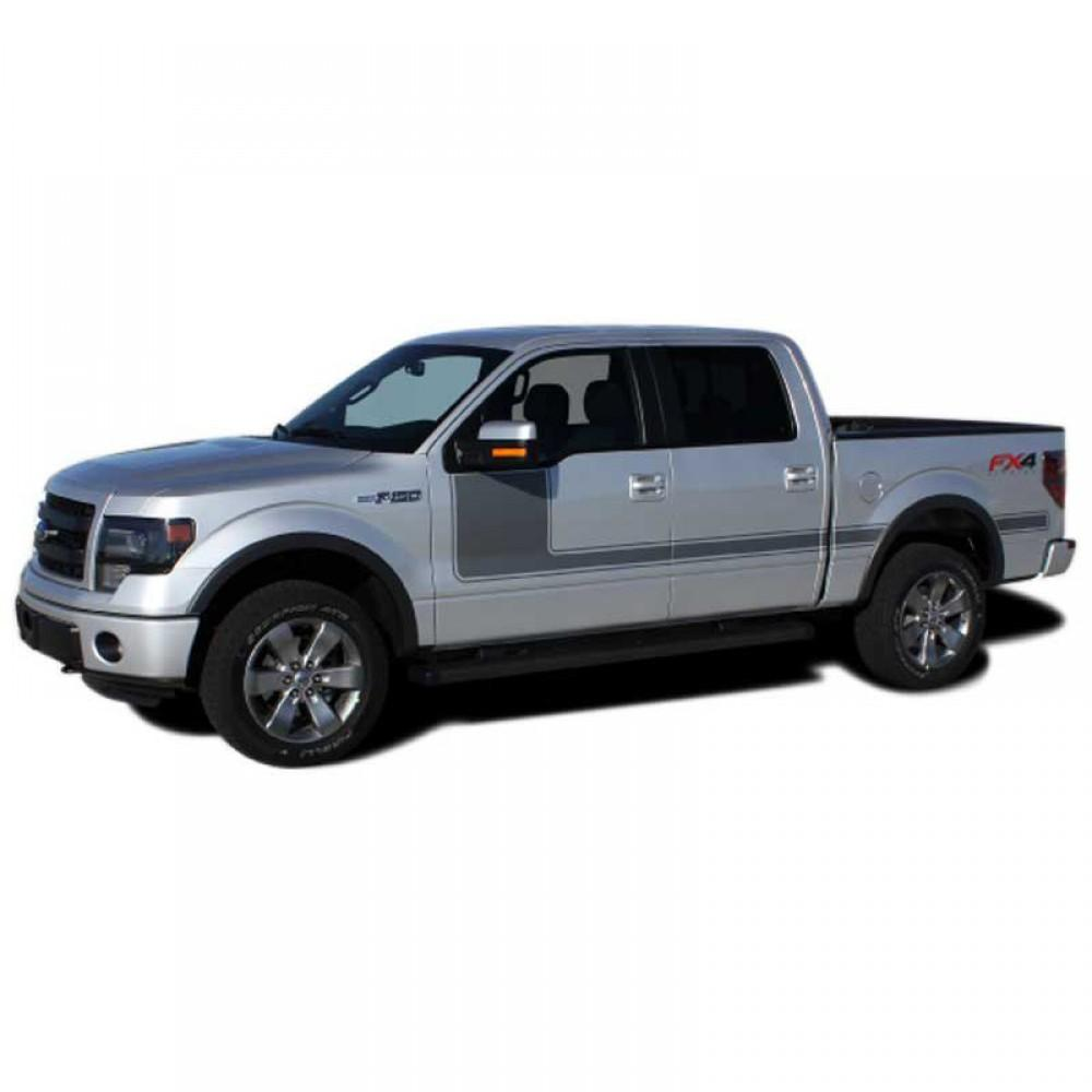 Force 1 Solid 2009-2014 Ford F150 Vinyl Kit